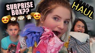 Clothing Try On Haul [Ivory Ella Surprise Box] 2018 Family Vlog