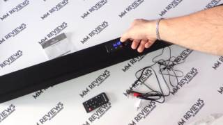 recensione soundbar bluetooth 40 watt rms auna areal bar 150