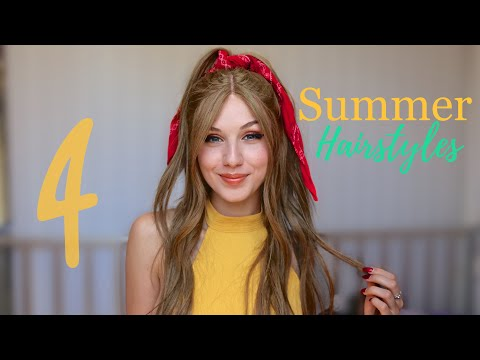 4 HAIRSTYLES TO TRY THIS SUMMER thumbnail