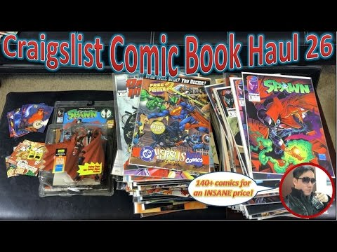 Craigslist Comic Book Haul 26 | 140+ Comics For An Insane Price!
