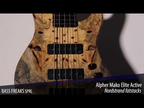 Alpher Mako Elite Active Live Demo - BassFreaks.net