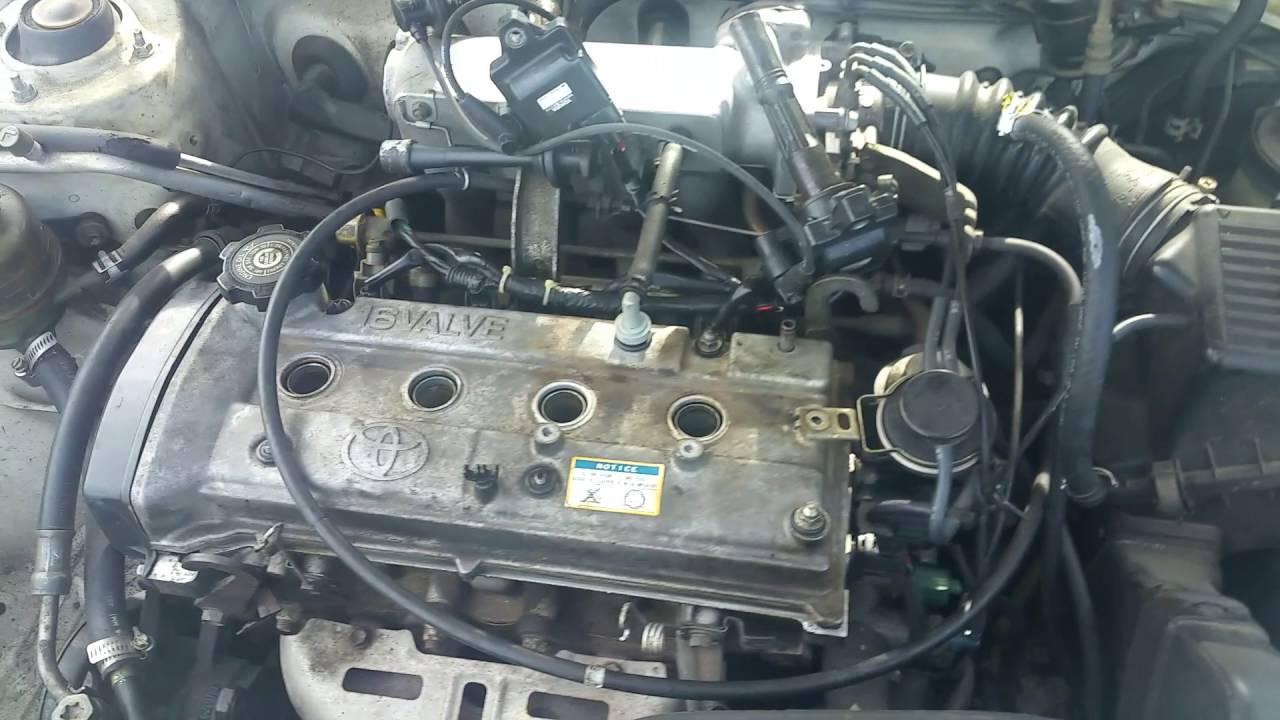 Cambio De Gasket De Tapa De Motor  Toyota Tercel 1995