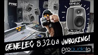 Genelec 8320APM Unboxing and Review!! SMART monitors!? These things PACK a PUNCH!!