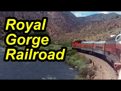 Royal Gorge Route Railroad Offers Breathtaking Views - Canon City, Colorado