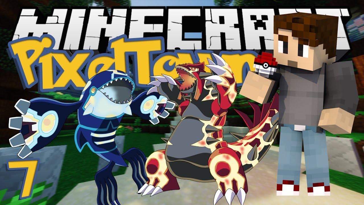 Minecraft Pixeltown Ep 7 Omega Ruby Alpha Sapphire
