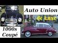2x AUTO UNION 1000s Coupé de Luxe (1959 - 1963) Oldtimer - Classic Car