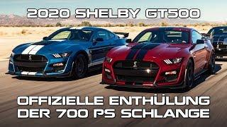 2020 Shelby GT500: Offizielle Enthüllung der 700PS Schlange