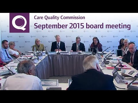 CQC Board Meeting 23 September 2015