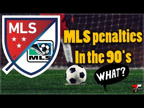 How the MLS took penalties in the 90's
