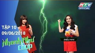 Nhanh Như Chớp Tập 10 - Diệu Nhi và Diễm My 9X Full HD
