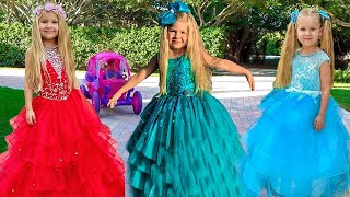 Diana Dress Up For The Princess Ball