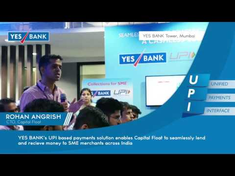 Rohan Angrish, CTO, Capital Float, on their business objectives | YES BANK UPI Solutions