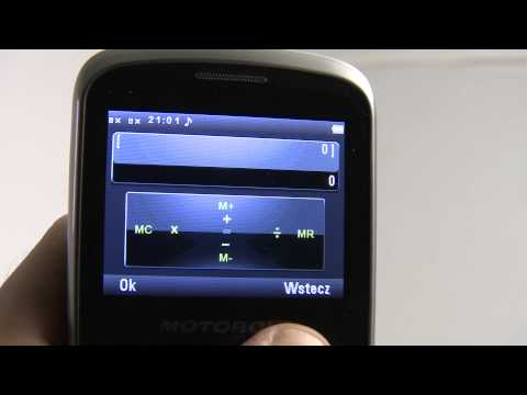 Motorola EX115 - test PC World