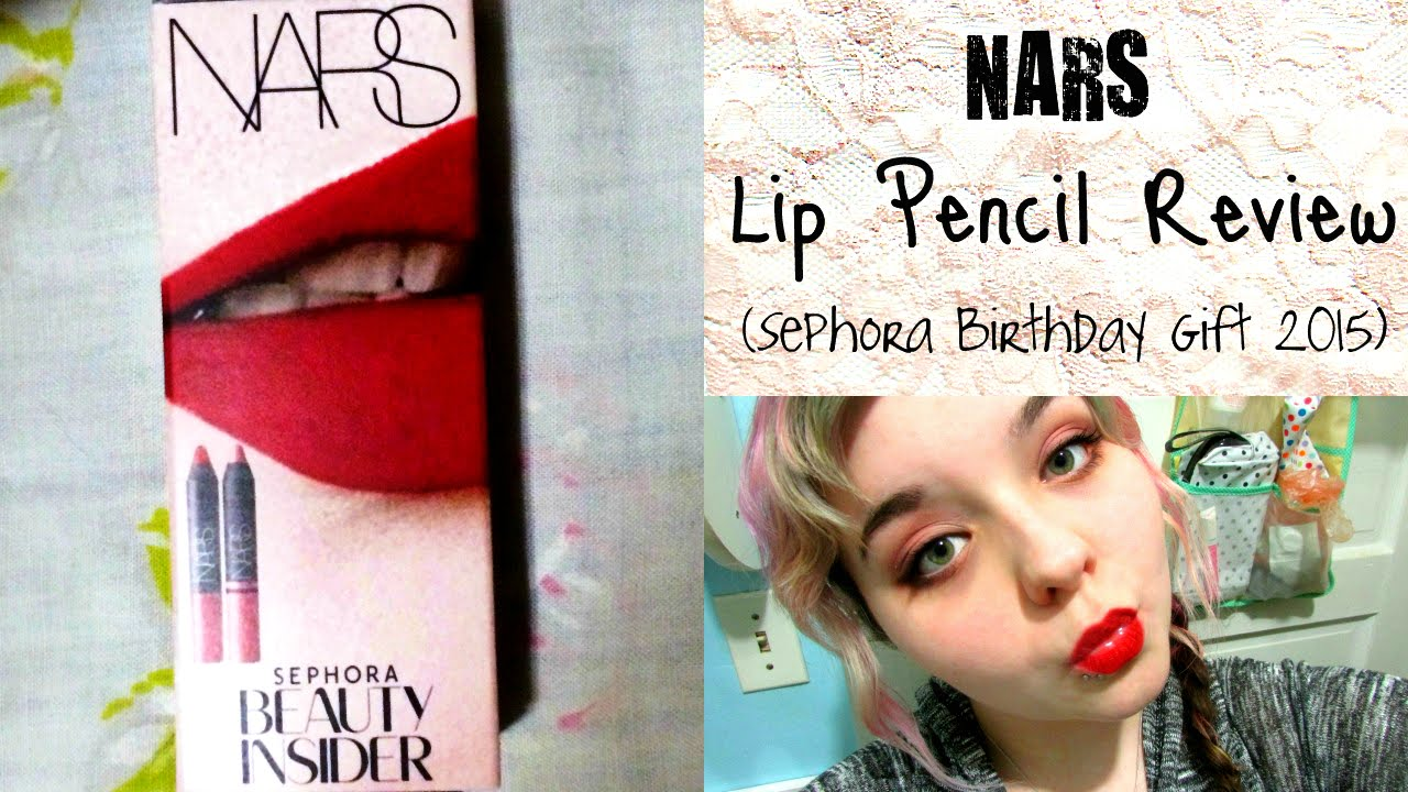 NARS Lip Pencil Review Swatches