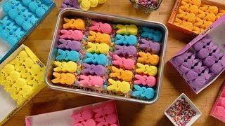 How To Make Peeps Cookie Bars For Easter Sunday