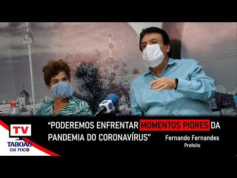 Fernando Fernandes atualiza as ações de combate ao coronavírus em Taboão da Serra