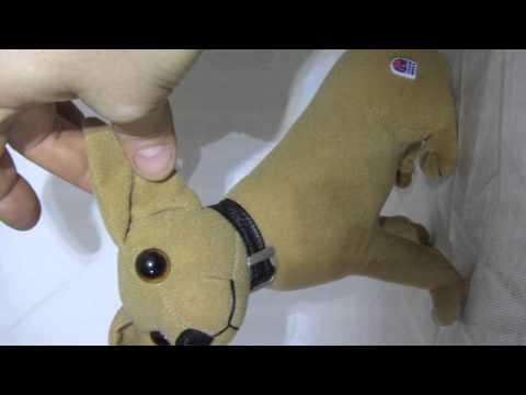 """Taco Bell Chihuahua Stuffed Plush Animal Talking Dog """"Yo Quiero Taco Bell"""" - VTG"""