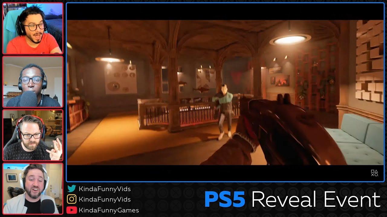 Bethesda's Deathloop PlayStation 5 Kinda Funny Live Reactions - YouTube