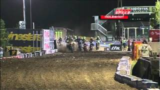 2011 AMA Supercross - RD17 Las Vegas - 250 Class East vs West Shootout [ Part 1 of 2 ]