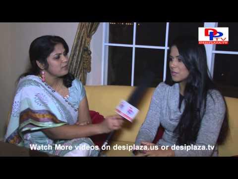 Rachana Mourya, tollywood actress speaking to desiplaza.tv during her visit to dallas