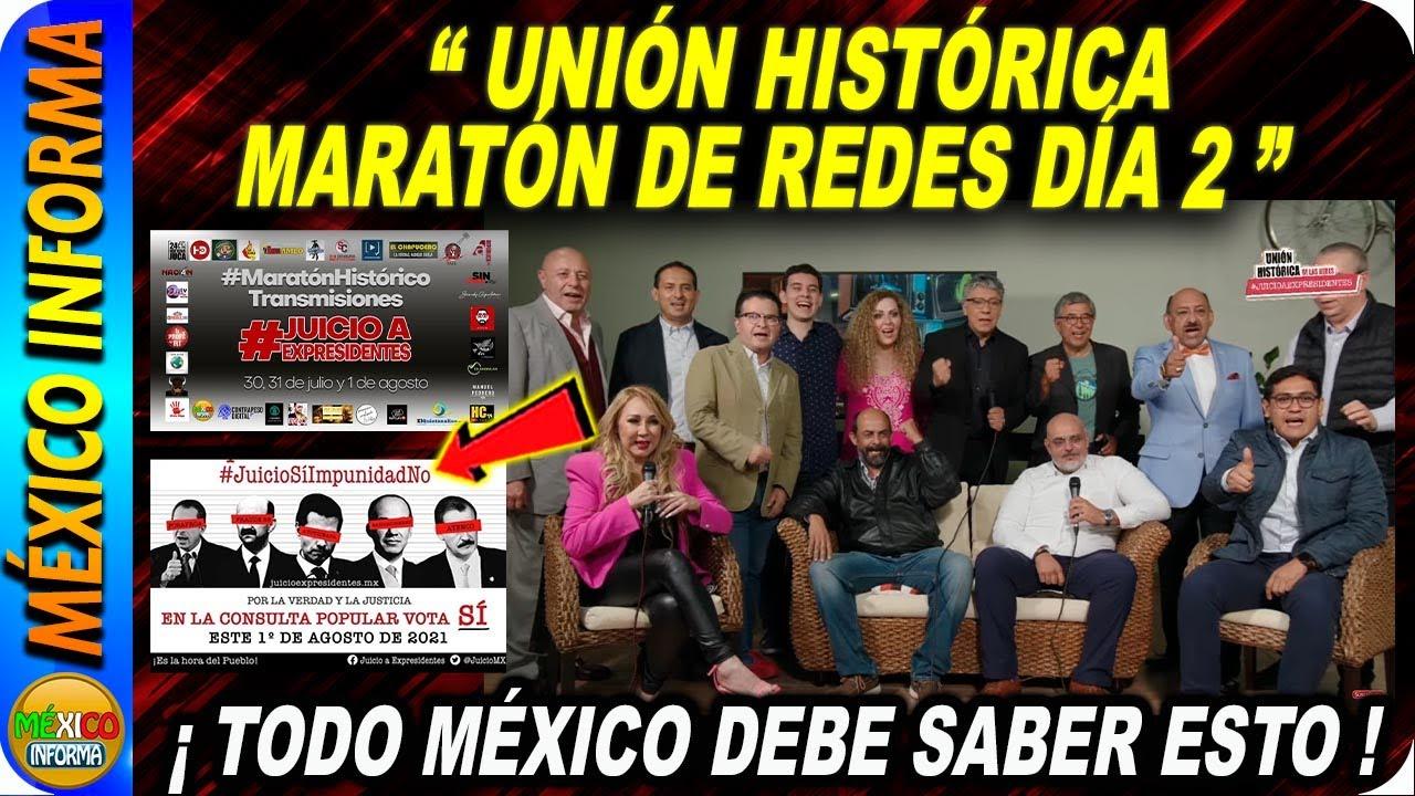 UNIÓN HISTÓRICA DE LAS REDES. MARATÓN DÍA 2. EST0 ES INSÓLIT0