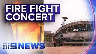 Rock legends unite to raise money for fire crisis | Nine News Australia