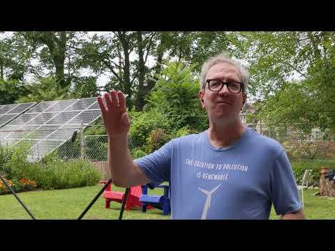 98 Solar Panels on Thomas Blvd.
