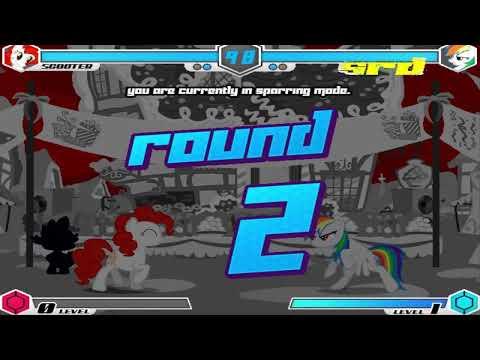 Fighting Is Magic - Scooter VS Super Rainbow Dash