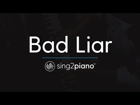 Bad Liar [Piano Karaoke Instrumental] Selena Gomez