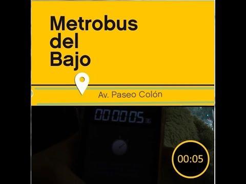 """<h3 class=""""list-group-item-title"""">Mirá como se viaja más rápido y seguro en el Metrobus del Bajo</h3>"""