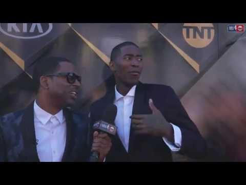 Jamal Crawford   NBA Awards Show Red Carpet Interview