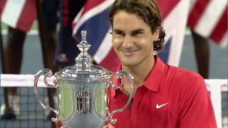 US Open 50 Moments That Mattered: Roger Federer Wins Record Five Straight Titles