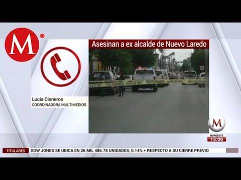 Hallan muerto a ex alcalde de Nuevo Laredo, Tamaulipas
