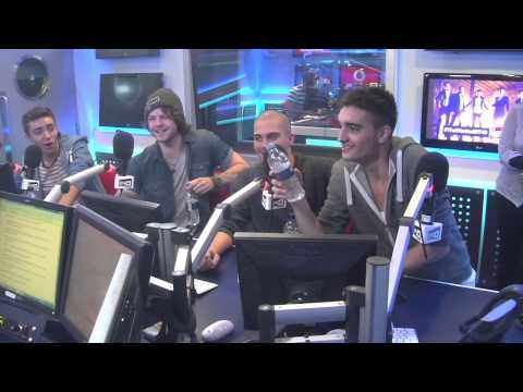 The Wanted Webchat Vodafone Big Top 40 Webchat - Sunday 23rd June 2013