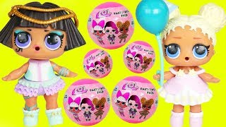 Flower Child Gets New Big Party Favor Balls by LOL Surprise Dolls