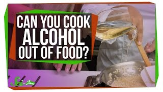 Can You Really Cook Alcohol Out of Food?