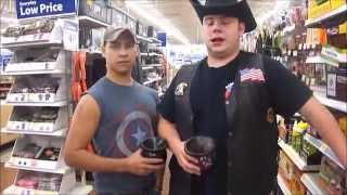 This Video Previously Contained A Copyrighted Audio Track. Due To A Claim By A Copyright Holder, The Audio Track Has Been Muted.     Hillbilly Walmart Trip Feat. Stokers