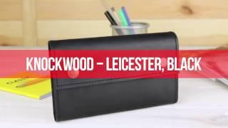 Мужское портмоне кожаное Knockwood Leicester купить в Украине, обзор