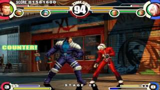 The King of Fighters XI Gameplay PC 1080p 60fps Level 8