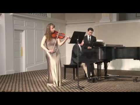 Senior Violin Recital
