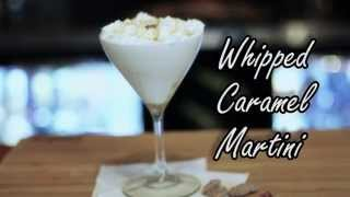Opa! Greek Taverna Signature Cocktail Series - Whipped Caramel Martini