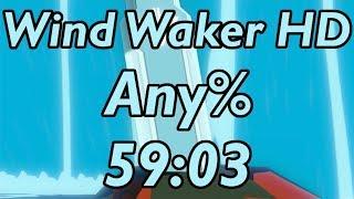 Wind Waker HD Any% Speedrun in 59:03