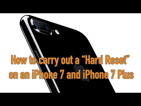 iPhone 7 and 8 Including Plus - How to do a Hard Reset