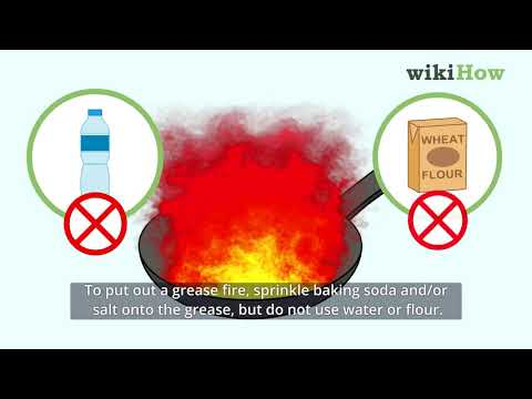 4 Ways To Put Out A Fire Wikihow