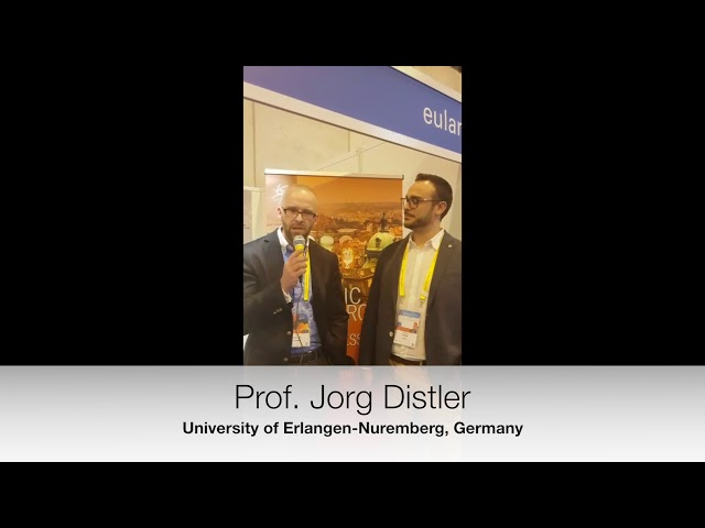 "Prof. Jorg Distler interview on  "" Potential cellular and molecular targets"""