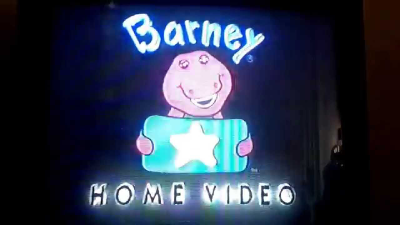 Barney home video classic collection logo for Classic house 1995