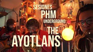 [THE AYOTLANS] en PHM underground sesión 20 reggae, ska, rocksteady,