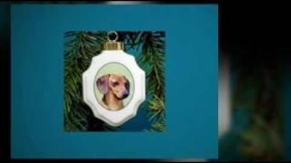 Dachshund Christmas Tree Ornaments