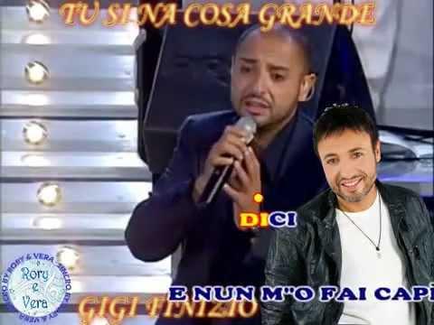 Gigi Finizio   Tu si na cosa grande (KARAOKE-FAIR USE)