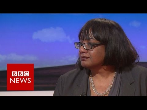 Diane Abbott on LBC policing interview - BBC News
